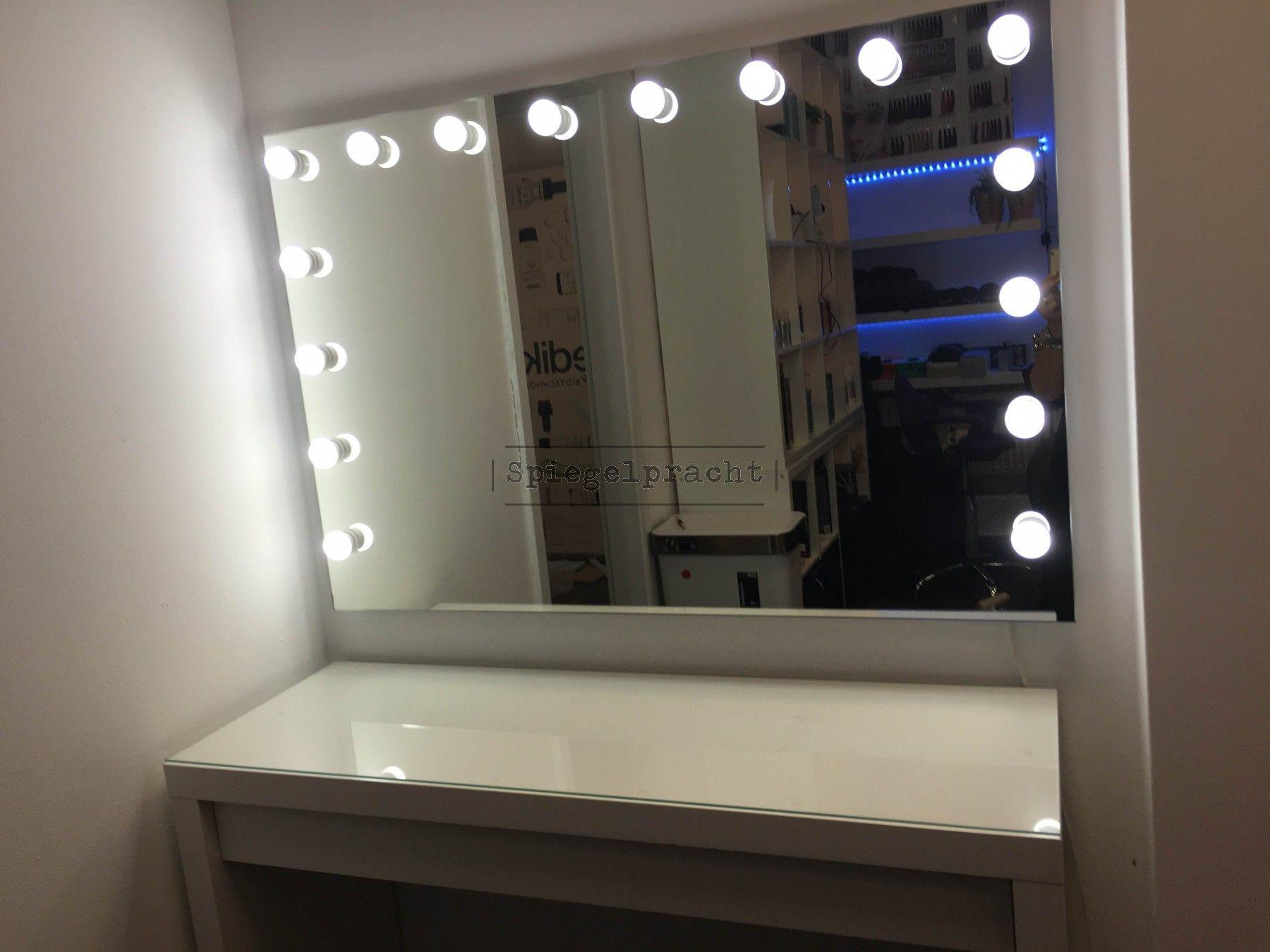 Make Up Spiegel : Roze led make up spiegel met verlichting led lichtjes postdrogist