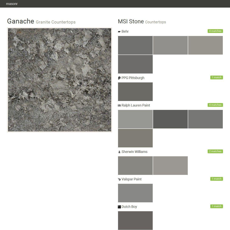 Charming Granite Countertops. Countertops. MSI Stone. Behr. PPG Pittsburgh. Ralph