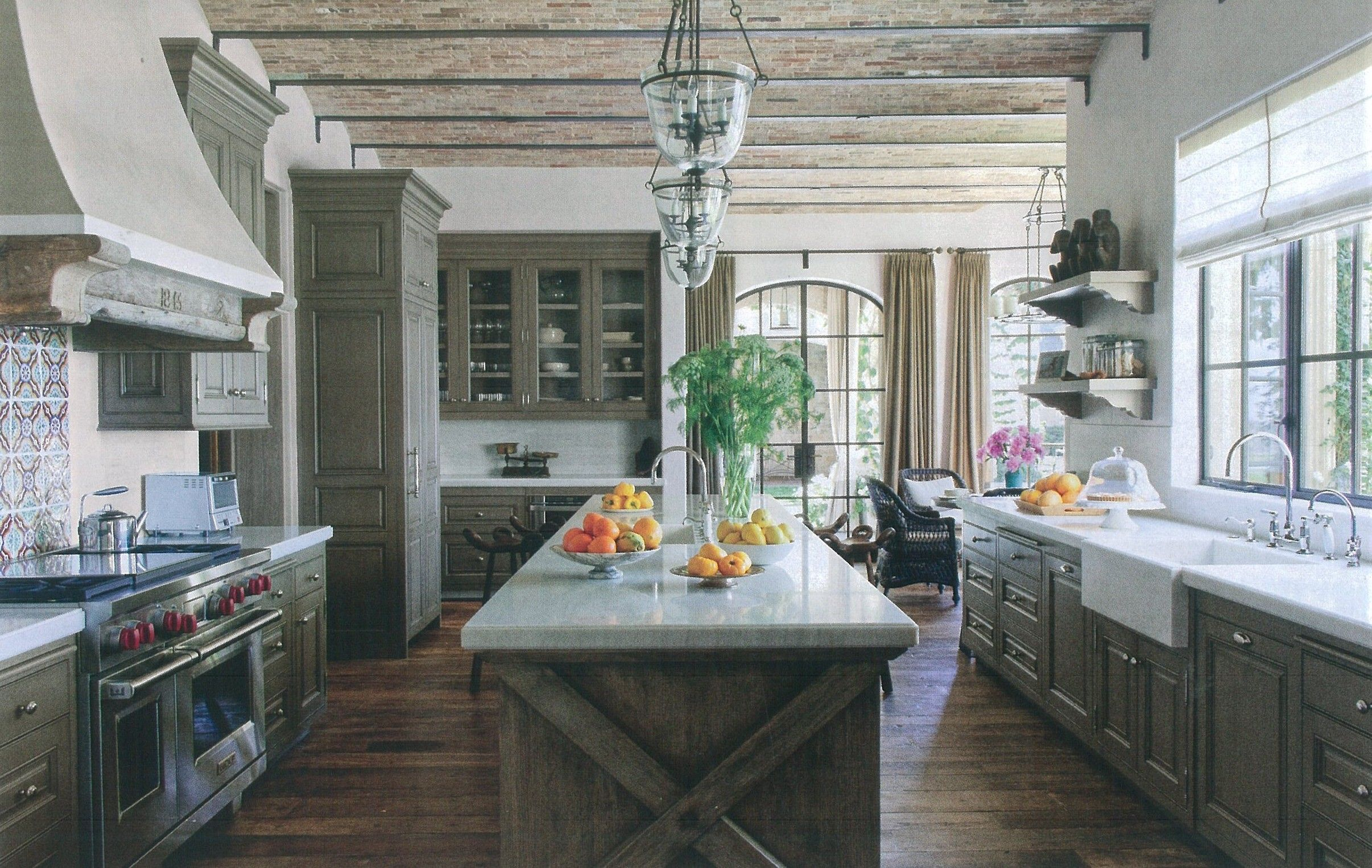 beautiful kitchen with rich wood tones farmhouse kitchen design modern farmhouse kitchens on kitchen remodel modern farmhouse id=30816