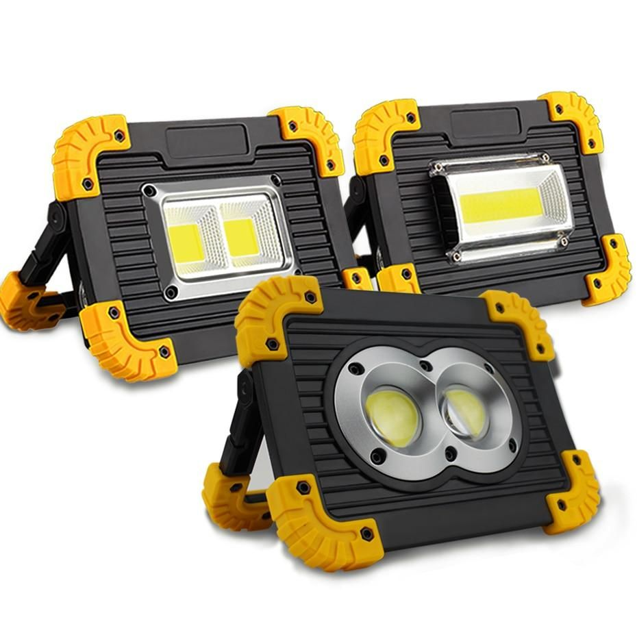 Rechargeable Lampe Led Portable Portable Spotlight Work Lights Led Work Light