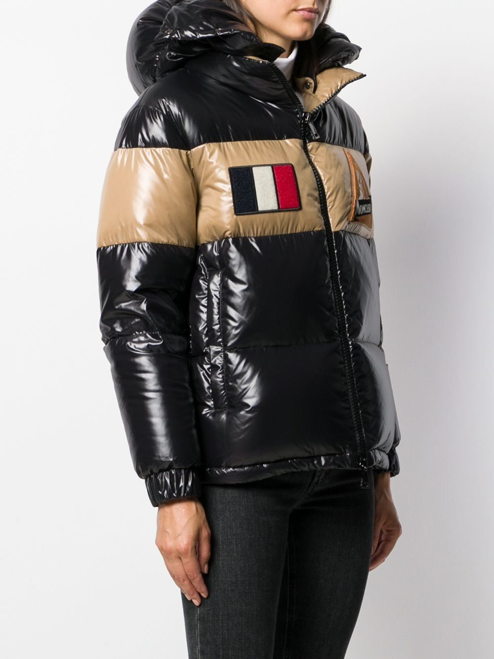 Moncler Patch Details Puffer Jacket - Farfetch in 2020 ...