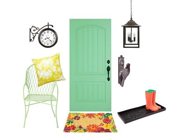 Front Door And Curb Appeal Decor Hgtv Magazine Pinterest Hgtv