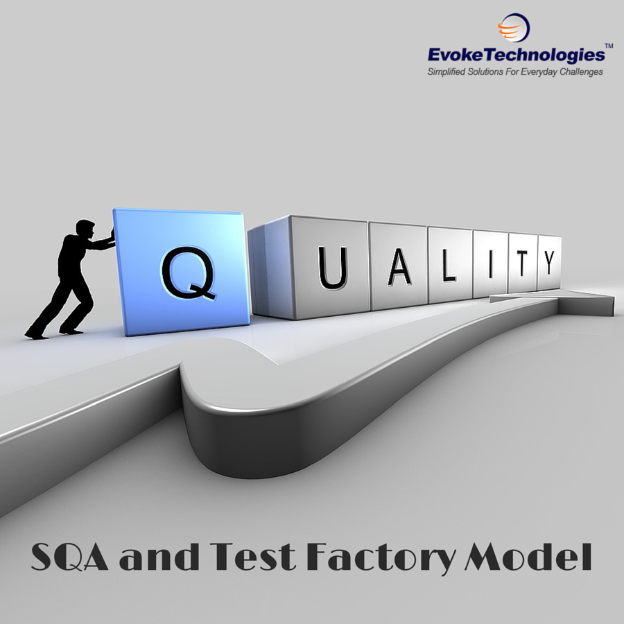 Importance of SQA and Test Factory Model in Software Testing