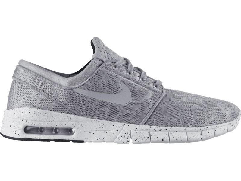 Nike SB Stefan Janoski Max Skateboarding Shoes Mens 12 Wolf Grey 631303 001