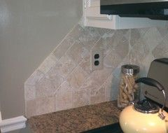 Image Result For End Backsplash Open Wall Downstairs Pinterest