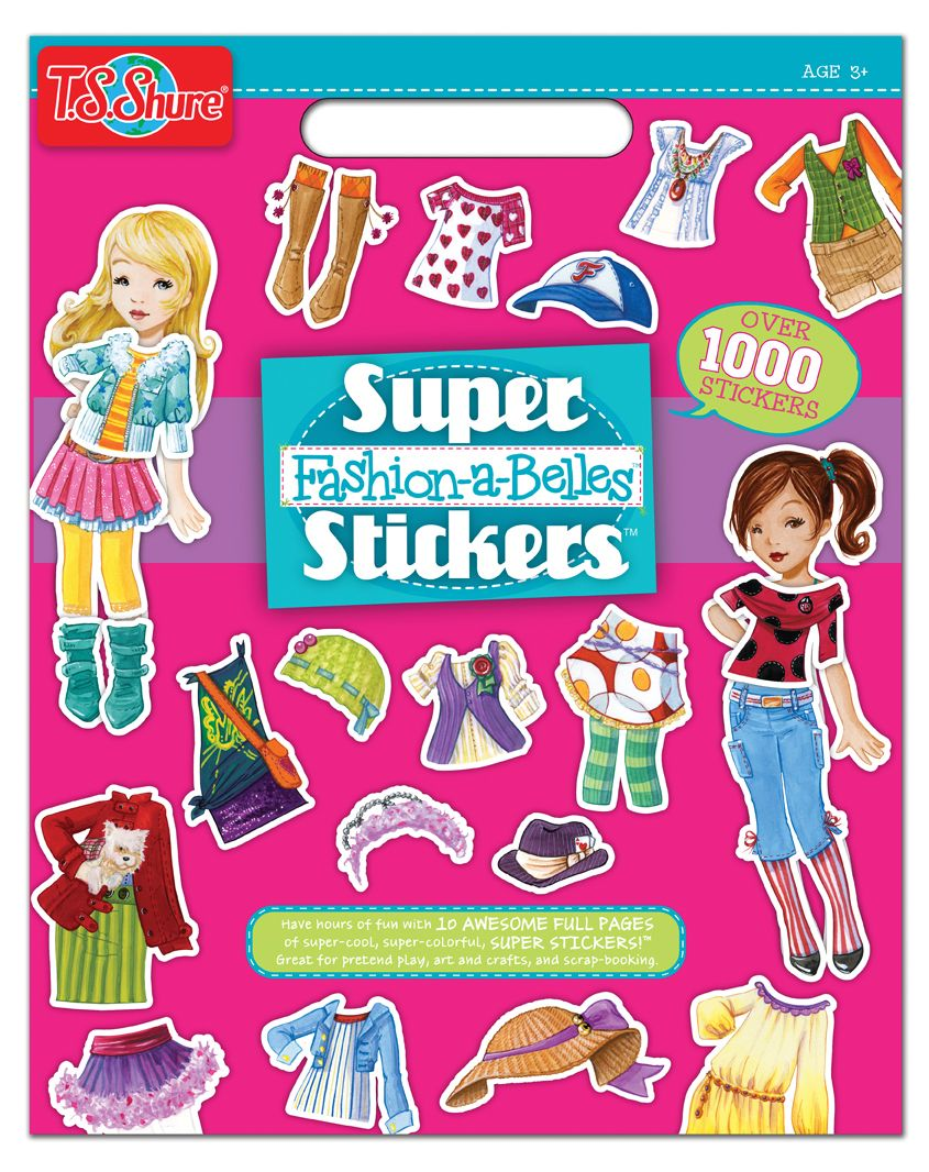 , Fashion-A-Belles Super Stickers Book, My Pop Star Kda Blog, My Pop Star Kda Blog