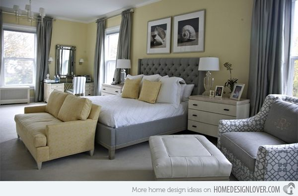 design grey accents club and ideal gray bedroom decor interior sportfuel pinterest yellow