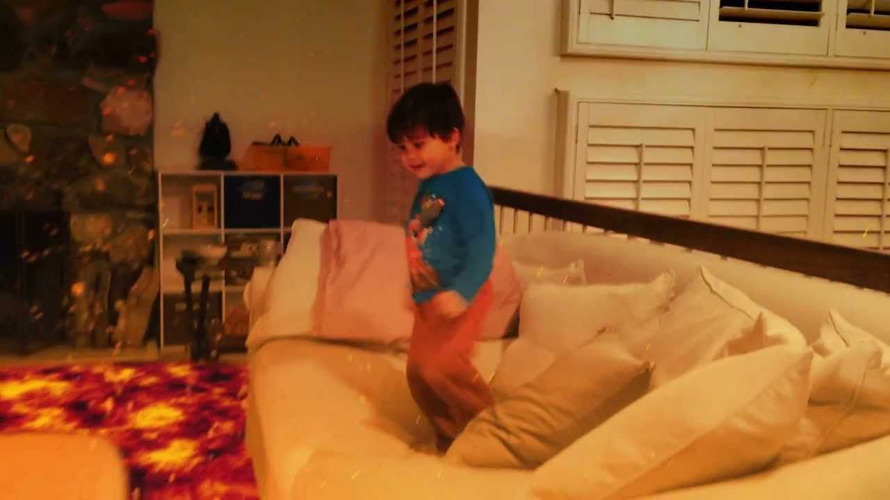 dad turns videos of his toddler into insanely cool action movies