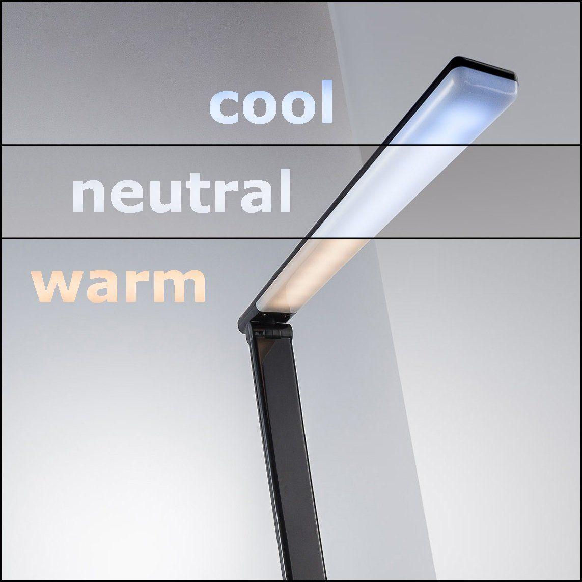 Led Schreibtischlampe Dimmbar Usb Ladeanschluss Inkl Led Platine