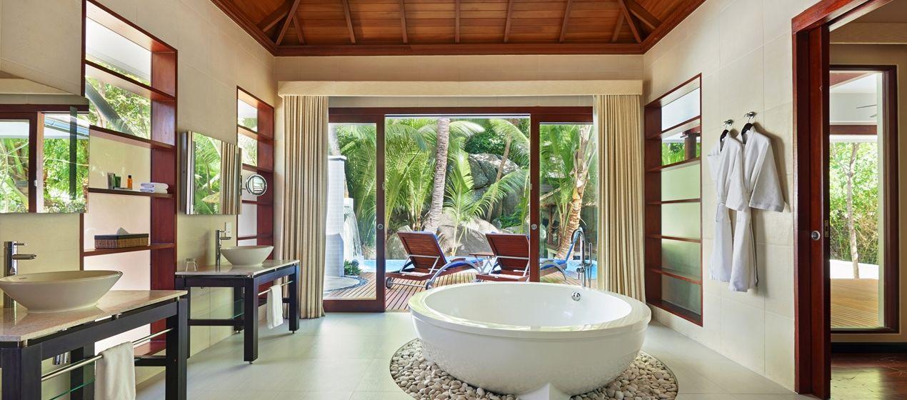 Image result for Hilton Seychelles Labriz Resort & Spa bedrooms