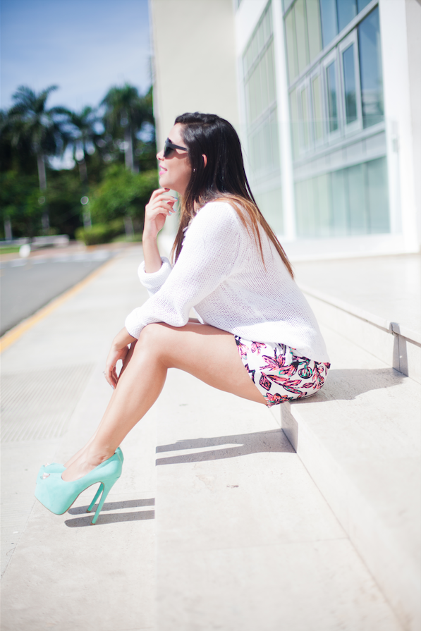 Mint Touch | OOTD | Mandy Shares Life