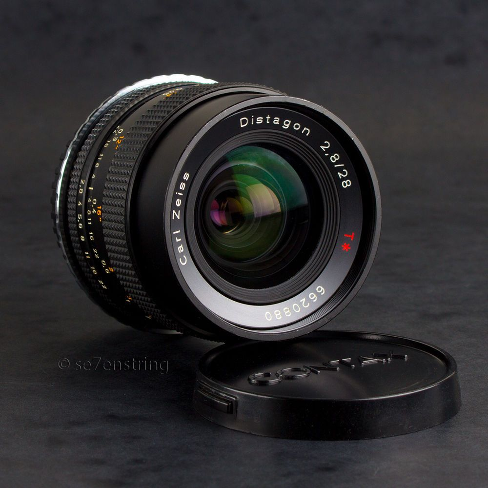 Carl Zeiss Distagon 28mm f2 8 T* Wide Angle Lens Contax Yashica C/Y