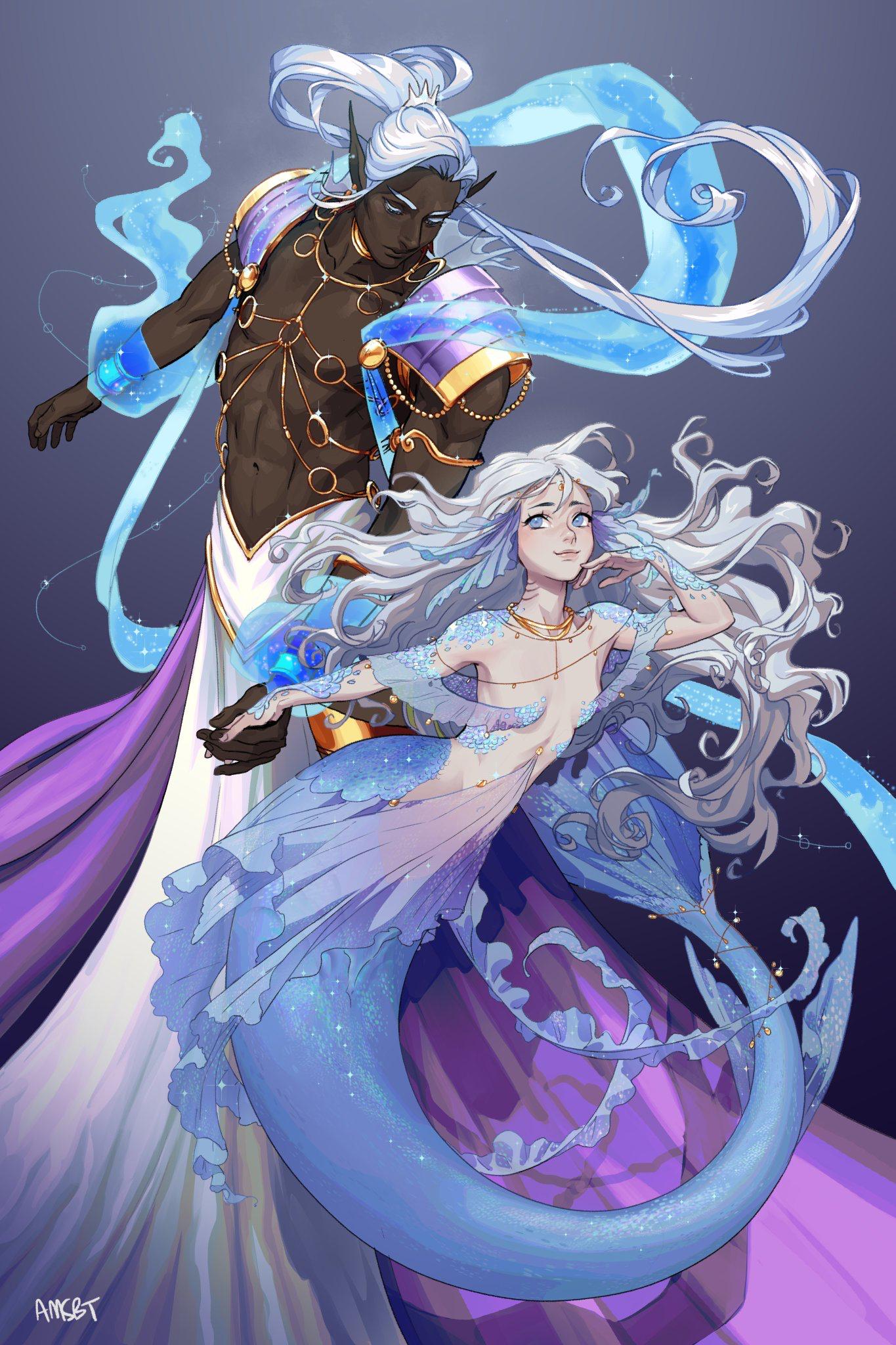 Anime Mermaid Art