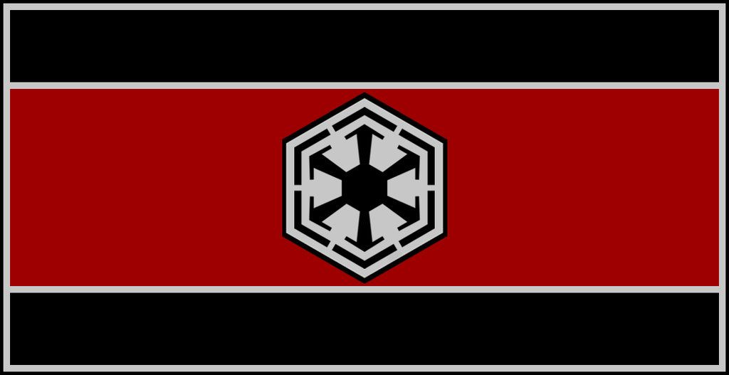 Flag Of The Sith Empire By Redrich1917iantart On Deviantart