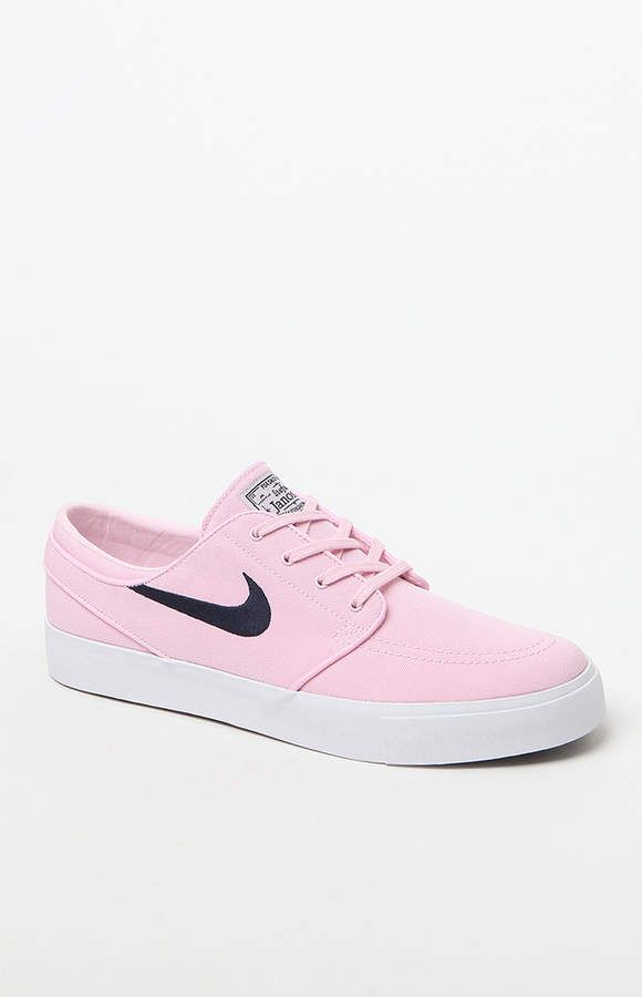 11bf3f2aa36 adidas Nike Sb Zoom Stefan Janoski Pink Canvas Shoes