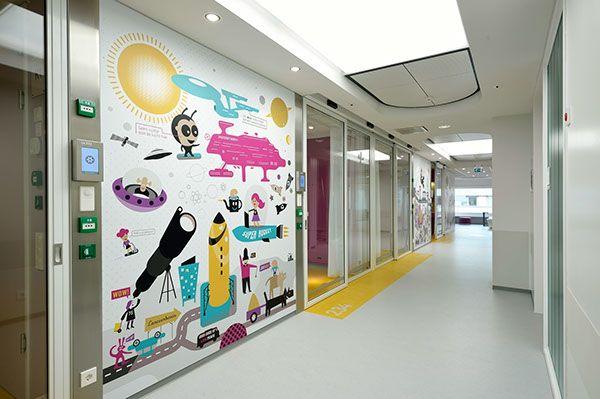 AMC Emma Children's Hospital Amsterdam by Stang Gubbels, via Behance