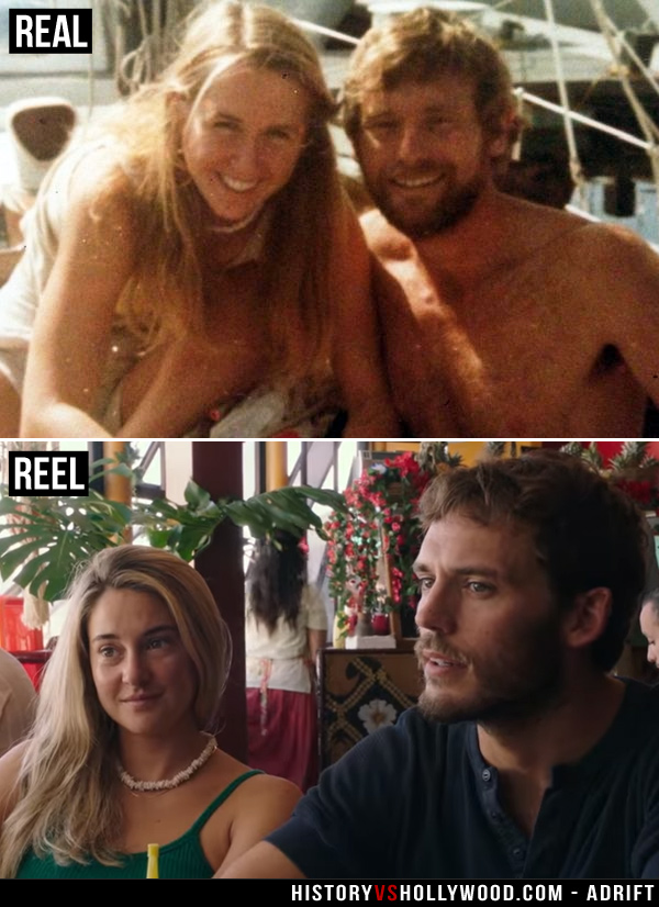 Adrift Movie Vs The True Story Of Tami Oldham And Richard Sharp Shailene Woodley Style Romantic Movies Shailene
