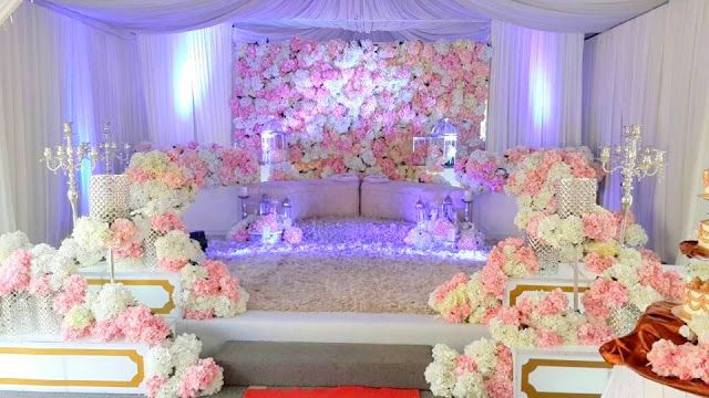 D Alis Deco Pelamin Khemah Decoration Wedding Weddings Planner Pelamin Sanding Pe Luxury Wedding Decor Wedding Stage Decorations Wedding Reception Backdrop