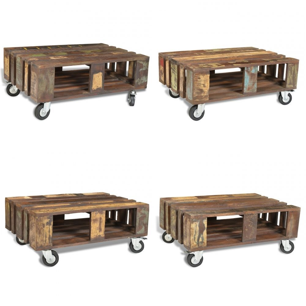 grosses roulettes pour table basse finest table basse vintage avec roulettes en bois corto with. Black Bedroom Furniture Sets. Home Design Ideas