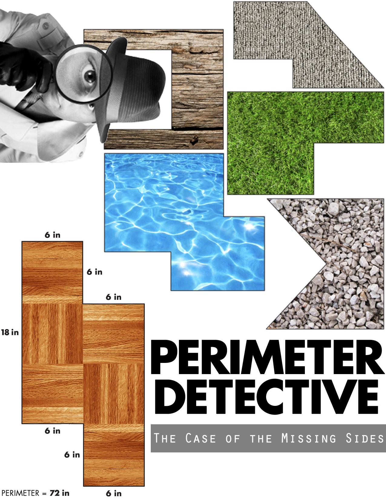 Perimeter Missing Side Worksheet   Printable Worksheets and Activities for  Teachers [ 1650 x 1275 Pixel ]