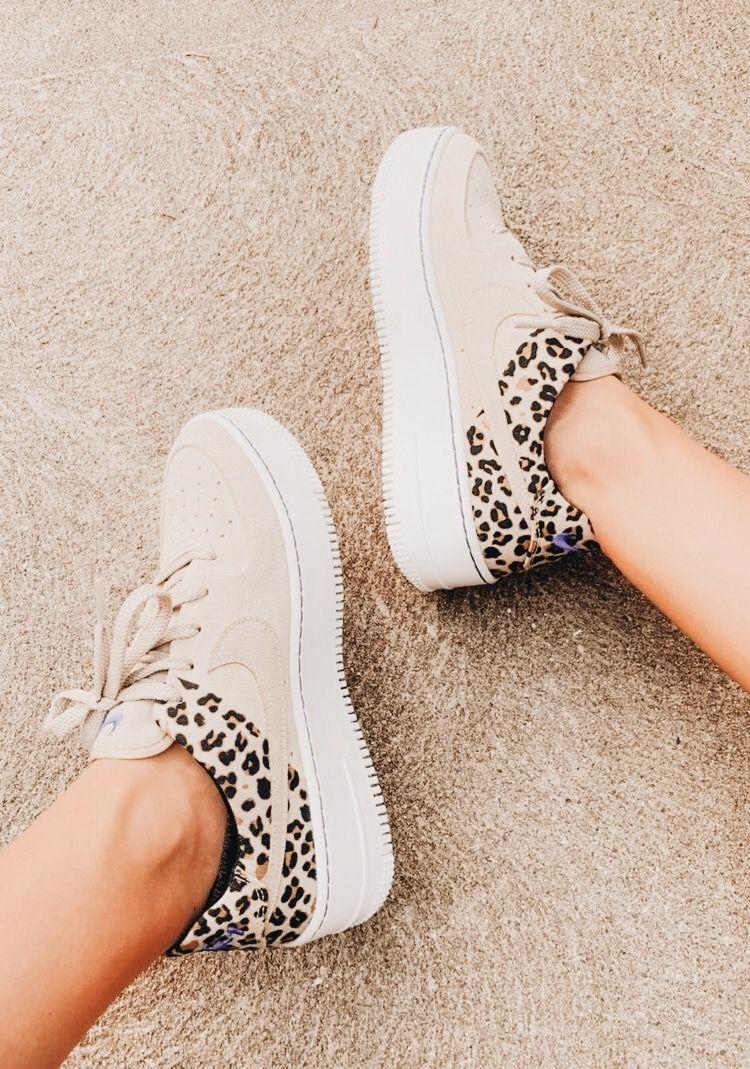 Grey cheetah print nikes.   Fashion, Style, Cute shoes