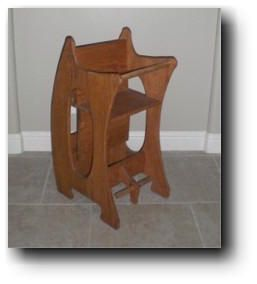 three-in-one high chair woodworking plans