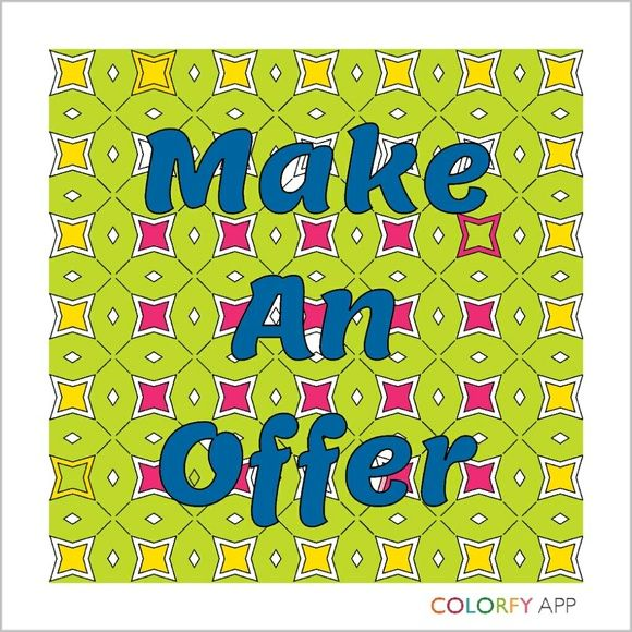 Make an Offer.... I can't say yes, If you don't offer Other