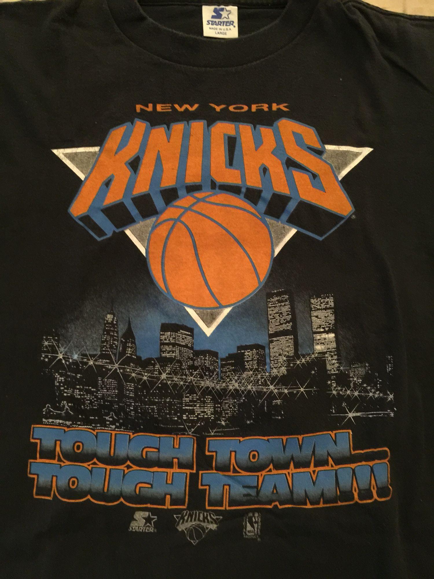 Vintage Ny Knicks Starter 90 S Shirt Vintage Tshirts Ny Knicks 90s Shirts