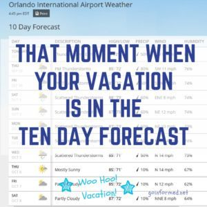 Disney World Weather Tips And Why August Is A Great Time To Visit