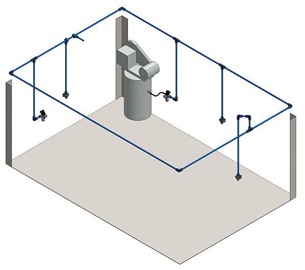 Plumbing Your Air Compressor Air compressor, Air
