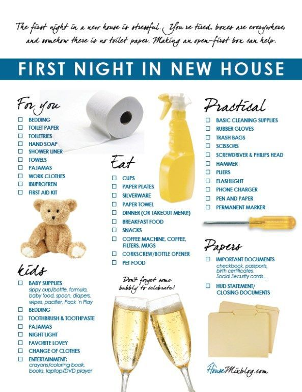 This is a cute little graphic to share with your clients when they move into their new home! Perhaps take some pop-by ideas from this ;)
