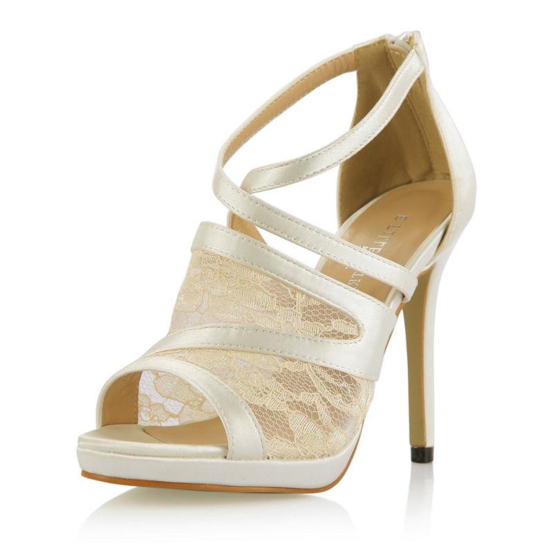 31.91$  Watch now - https://alitems.com/g/1e8d114494b01f4c715516525dc3e8/?i=5&ulp=https%3A%2F%2Fwww.aliexpress.com%2Fitem%2F29%2F32678933932.html - 2016 New Ivory Satin Mesh Elegant Bridal Wedding Party Shoes Women Peep Toe Thin High Heels Ladies Pumps Zapatos Mujer 0640A-14a 31.91$