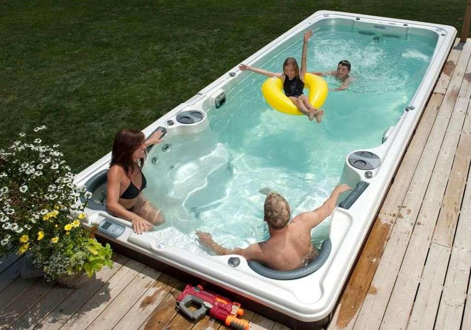 Is it a pool? Or is it a hot tub? Can you use it all year? Can you ...