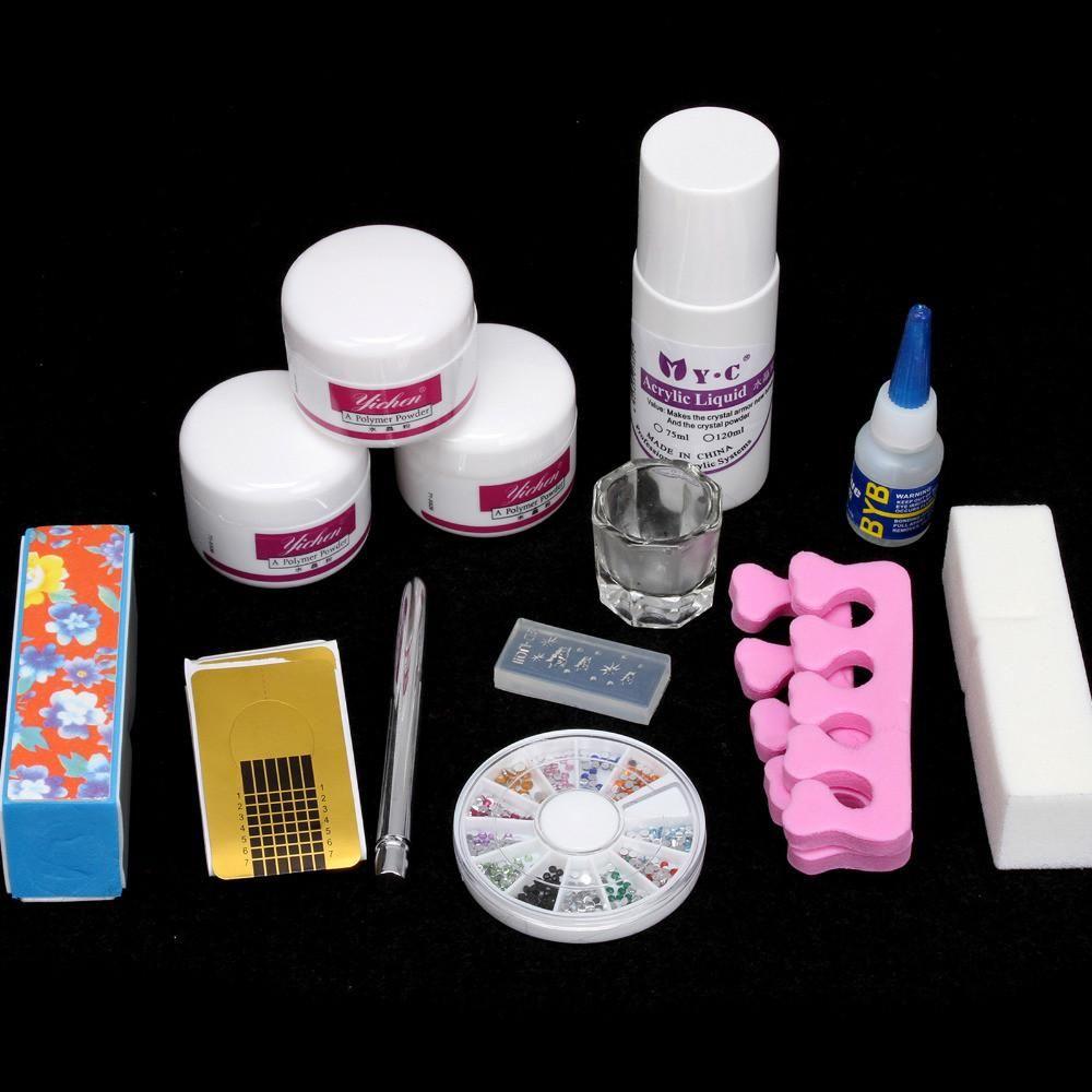 Yichen DIY Simple Acrylic Nail Art Kit Nail art kit