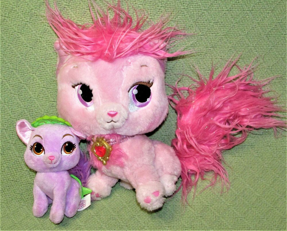Disney Palace Pets Princess Aurora 10 Pink Beauty Cat Ariel Purple 6 Matey Toy Disney Kitten Plush Toy Princess Palace Pets Palace Pets