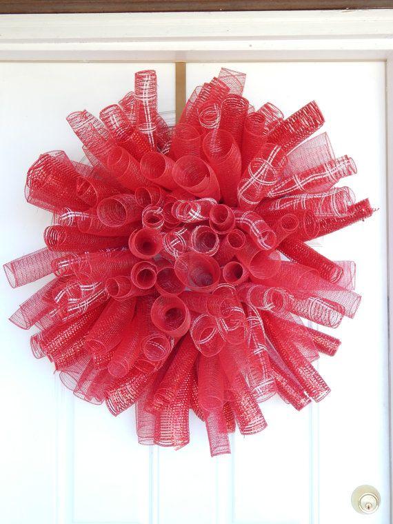 Corona di Natale deco corona maglia corona di festa per MelissaTalbott