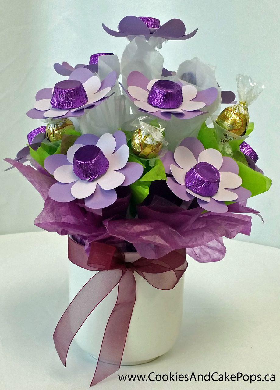 Purple chocolate bouquet chocolate bouquet cake pop and purple purple chocolate bouquet chocolate bouquetcake pop ontariogoodieschocolatesvasebouquets izmirmasajfo