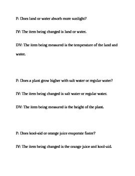 Scientific Method Matching Game Scientific Method Scientific Method Games Scientific