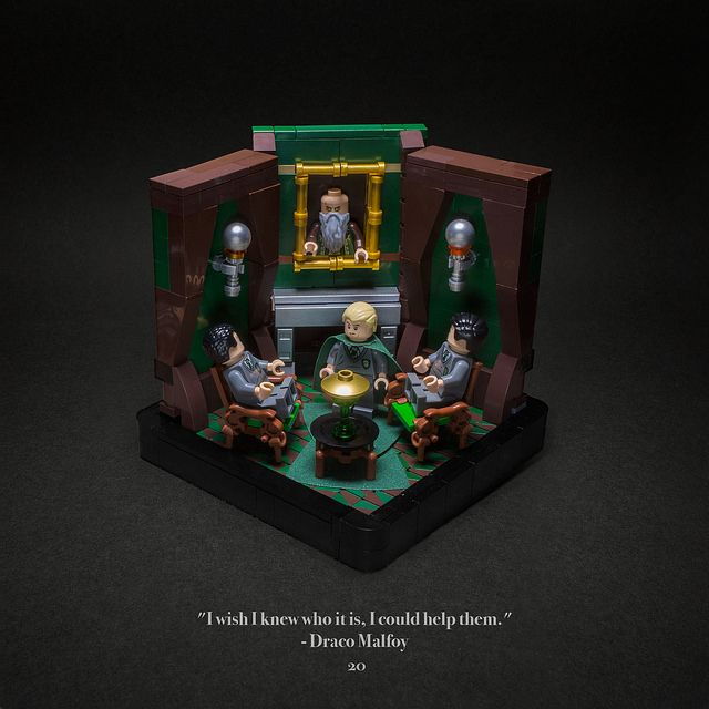 Vignettes From Harry Potter And The Chamber Of Secrets The Brothers Brick Lego Hogwarts Harry Potter Lego Sets Lego Harry Potter