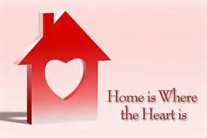 Home Is Where The Heart Is Real Estate Valentines Card Real Estate Postcards Real Estate Fun Real Estate Trends