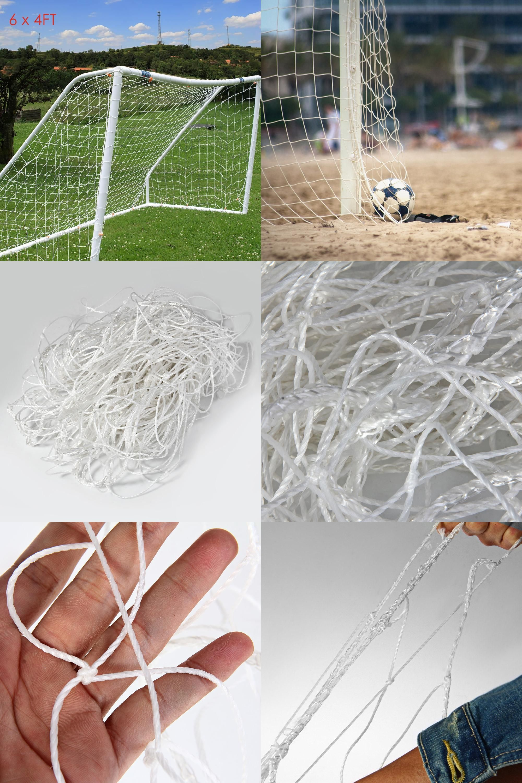 6d53a75575d  Visit to Buy  Hotsale Brand Full Size 6 x 4FT Football Soccer Goal Post