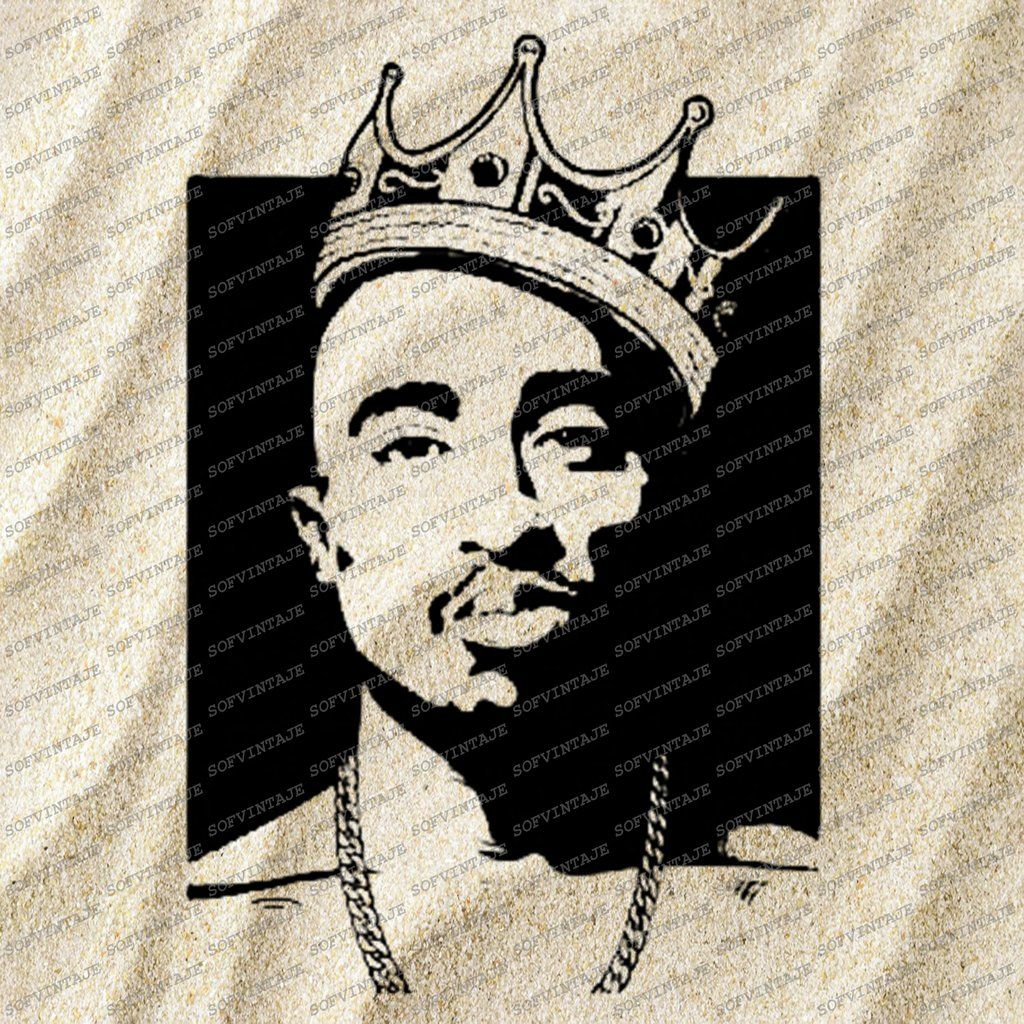 Tupac Shakur 2pac Svg File Tupac Shakur Svg Design Clipart Singer Hip Hop Svg File Actor Png Vector Graphics Svg For Cricut For Silhouette Svg Tupac Artwork Sketch Tattoo Design Tupac [ 1024 x 1024 Pixel ]
