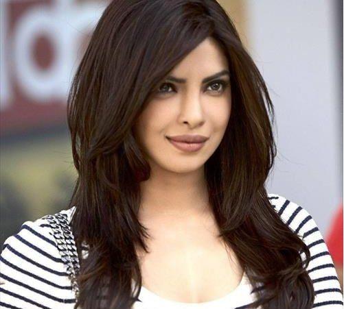 Priyanka Chopra S Hair Style Haircut For Big Forehead Long Layered Hair Haircuts For Long Hair