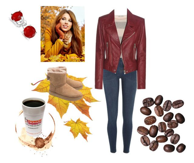 """Dreamin' of coffee"" by miracle-child-1 ❤ liked on Polyvore featuring River Island, Autumn Cashmere, UGG, Balenciaga and Bling Jewelry"