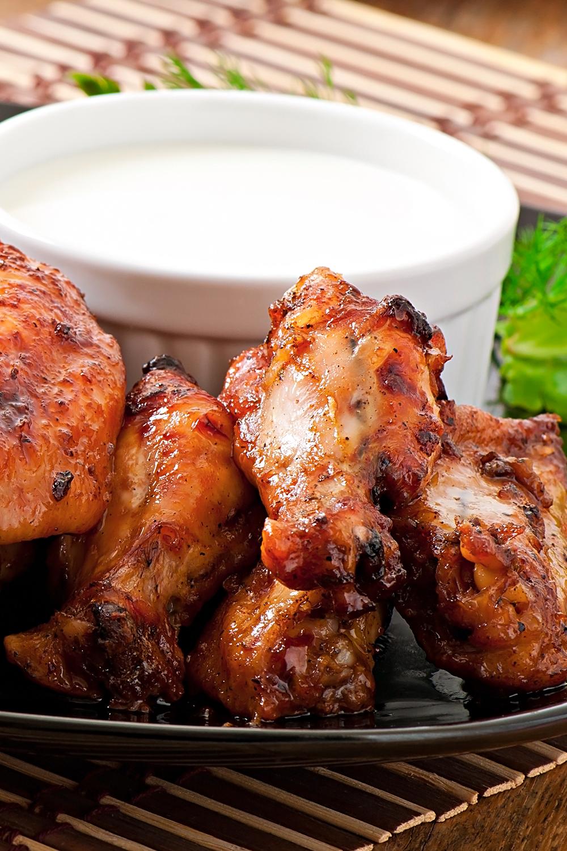 أحسن طريقة لتتبيل الدجاج المشوي أو المصلي Recipe Chicken Wings Food Chicken