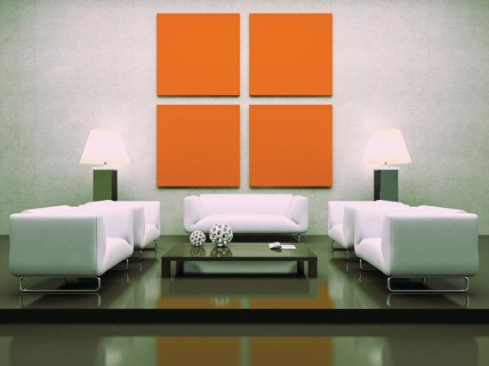 Good balance and scale the wall hangings create a great - Balance in interior design ...