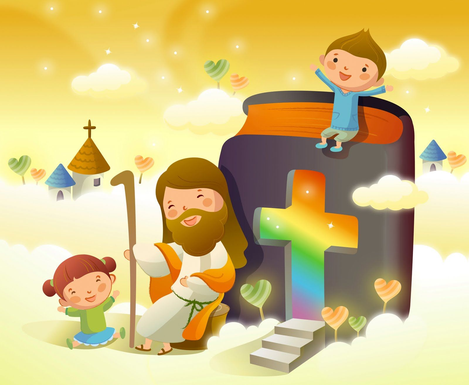 Jesus Y Los Ninos Para Compartir Con Amigos 19 Imagenes De Ninos Felices Ninos Cristianos Ilustraciones Cristianas