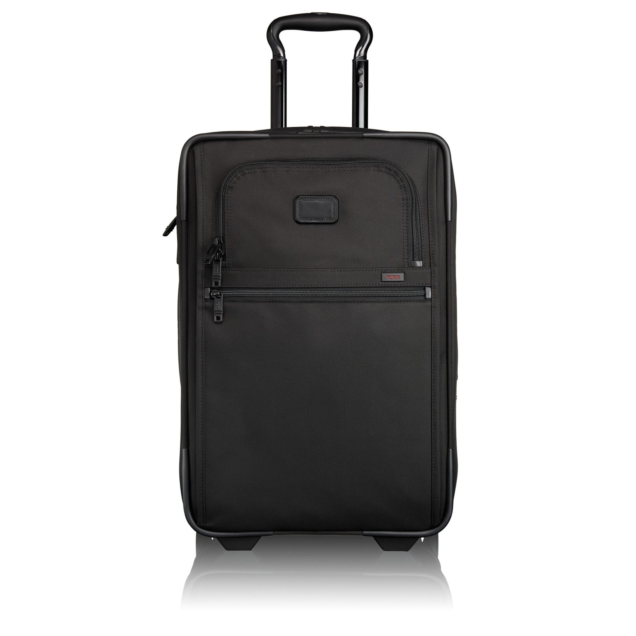 dbfd8574c2  715 - Tumi Alpha 2 International Expandable 2 Wheeled Carry On - Black  (too big