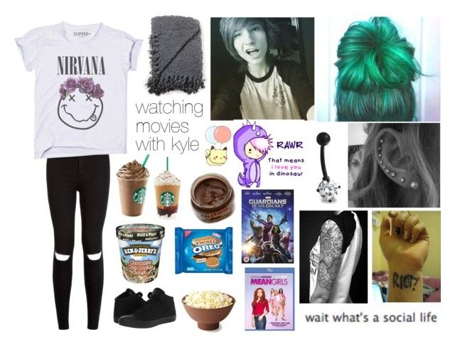 watching movies with kyle by sanne-alta on Polyvore featuring polyvore, fashion, style, Converse, Bling Jewelry and Coleman