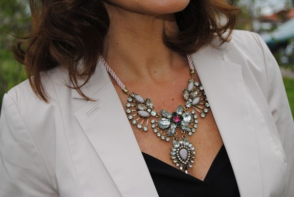 statement necklace | Lady of Style